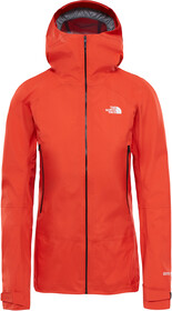 The North Face Shinpuru II Jacket Dame fire brick red   Gode
